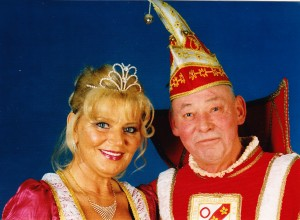 2001 Prinz Willi IIII. (Willi Mörsch) Prinzessin Anne I. (Anne Daufenbach)