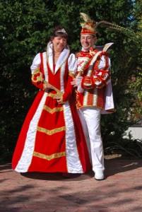 2011 Prinz Pedi I. (Peter Hilgers) Prinzessin Regina I. (Regina Hilgers)