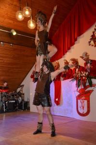 Tanzpaar: Lea Jardin und Heiner Adolphs