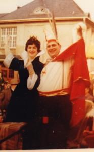 1961 Prinz Alfred I. (Alfred Schmidt) Prinzessin Irma I. (Irma Hein)