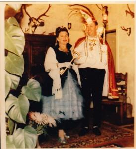 1963 Prinz Jakob I. (Jakob Hein) Prinzessin Therese I. (Therse Schütz)