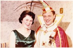 1964 Prinz Gerd I. (Gerd Lessenich) Prinzessin Maria I. (Maria Trauden)