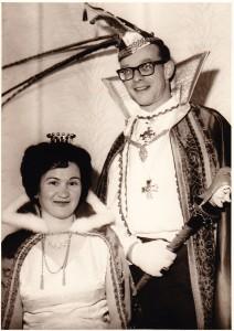 1965 Prinz Josef II. (Josef Jardin) Prinzessin Irma II. (Irma Lessenich)