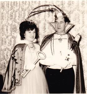 1966 Prinz Heinz I. (Heinz Hohn) Prinzessin Erna I. (Erna Jardin)