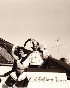 1967 Prinz Erich I. (Erich Krämer) Prinzessin Marga I. (Marga Michels)