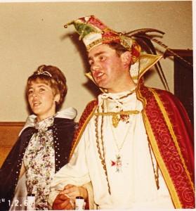 1969 Prinz Dieter I. (Dieter Richards) Prinzessin Inge I. (Inge Schreiner)