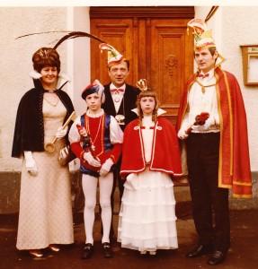 1972 Prinz Dieter II. (Dieter Klas) Prinzessin Inge II. (Inge Krämer)