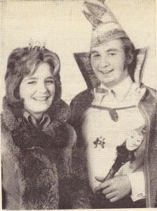 1973 Prinz Dietmar I. (Dietmar Hohn) Prinzessin Beate I. (Beate Schneider)