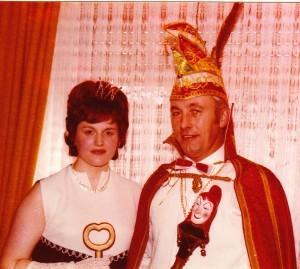 1974 Prinz Helmut I. (Helmut Bell) Prinzessin Marianne I. (Marianne Mohr)