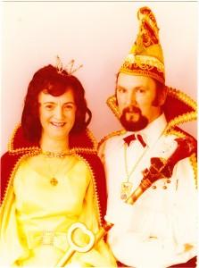 1978 Prinz Franz-Josef III. (Franz-Josef Pick) Prinzessin Trudi I. (Trudi Pick)