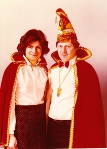 1979 Prinz Jakob II. (Jakob Schäfer) Prinzessin Jutta I. (Jutta Meyers)