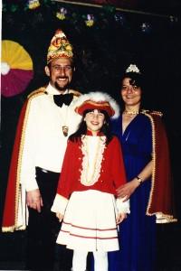 1981 Prinz Willi III. (Willi Pfeifer) Prinzessin Ellen I. (Ellen Pfeifer)