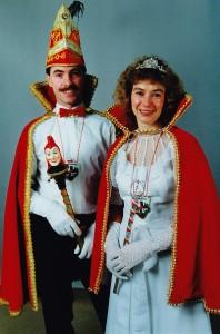1992 Prinz Hans-Georg I. (Hans-Georg Hochmann) Prinzessin Lydia I. (Lydia Hochmann)