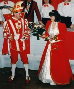1994 Prinz Herbert I. (Herbert Hein) Prinzessin Marion I. (Marion Hein)